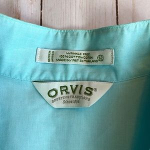 Orvis Ladies Button Down Shirt 👕